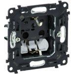 LEGRAND 753020 Valena InMatic 2P+F csatlakozóaljzat mechanizmus gyermekvédelemmel, rugós vezetékbekötéssel
