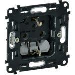 LEGRAND 753021 Valena InMatic 2P+F csatlakozóaljzat mechanizmus gyermekvédelem nélkül, rugós vezetékbekötéssel