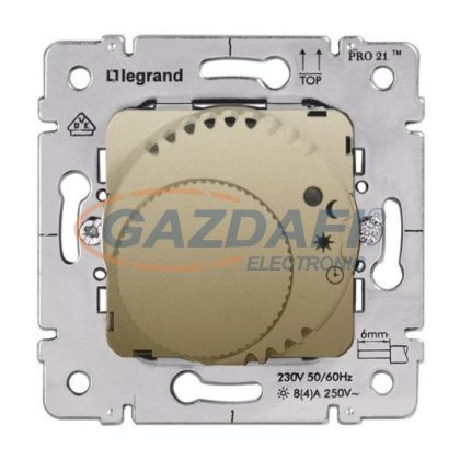LEGRAND 775694 Galea Life komfort szobatermosztát mechanizmus, titánium