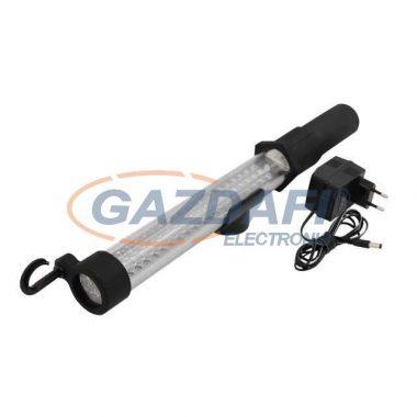 KANLUX ledes lámpa, 60+17 Led, 77X6W, hideg fehér, IP44/20, fekete, műanyag