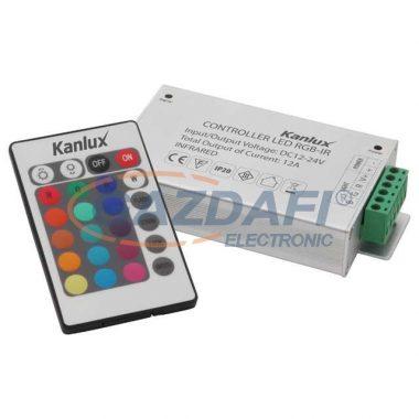 KANLUX távirányítható LED vezérlő RGB-IR