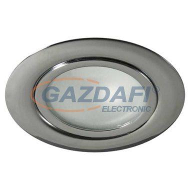 """KANLUX """"Gavi"""" süllyesztett spot lámpatest, G4, 20W, króm, IP20, 12V"""