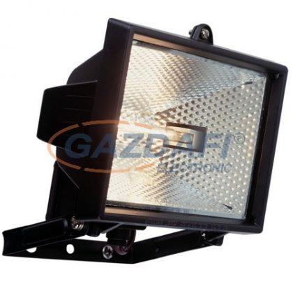 GAO 8114H Halogén fényvető max. 400W R7s, fekete, IP44