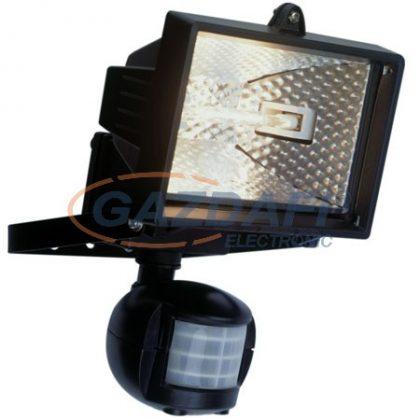 GAO 8117H Halogén fényvető, mozgásérzékelővel, 120W, fekete, IP44