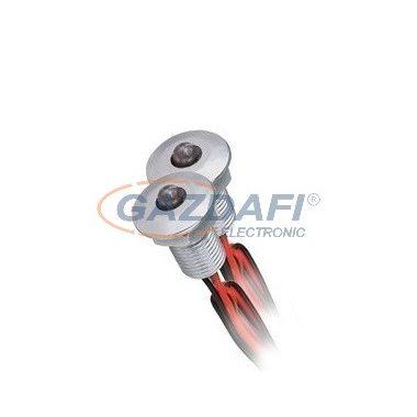"""KANLUX """"Oyo"""" Led lámpa, LED-12V, 2X0,22W, ezüst, hideg fehér, IP68"""