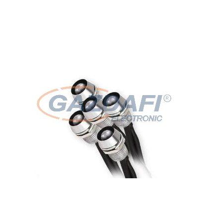 """KANLUX """"Oyo"""" Led lámpa, Led-12V, 5X0,22W, ezüst, hideg fehér, IP68"""