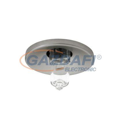 KANLUX süllyesztett spot lámpatest, JC, G4, 10W, króm, IP20, alumínium