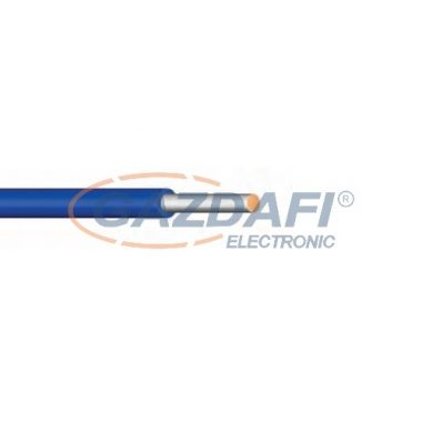 SiA 1x1,5mm2 Hőálló szilikon vezeték 300/500V kék