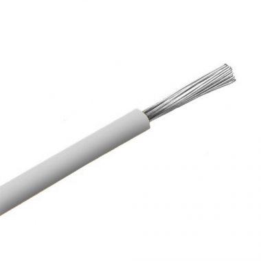 SiF 1x0,5mm2 Hőálló szilikon vezeték 300/500V fehér