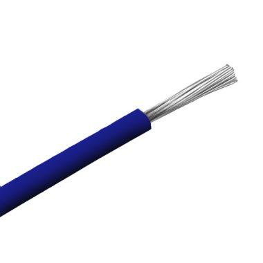 SiF 1x0,5mm2 Hőálló szilikon vezeték 300/500V kék