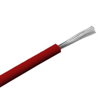 SiF 1x0,5mm2 Hőálló szilikon vezeték 300/500V piros