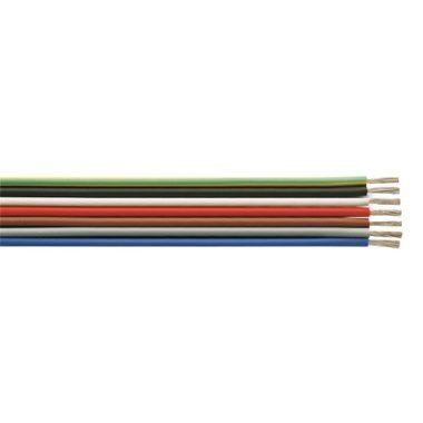 SiF 1x1,5mm2 Hőálló szilikon vezeték 300/500V fekete