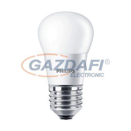PHILIPS CorePro 871829178705100 LED luster ND kisgömb fényforrás, 4W, E27, P45, 2700K, 250Lm, 827, opál búra