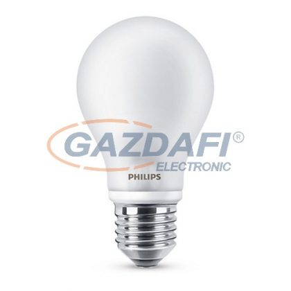 PHILIPS 871869670561200 LED fényforrás, classic 8.5W A60 E27 CW FR ND 1CT/10