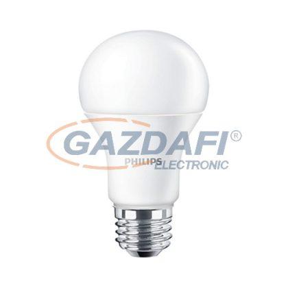 PHILIPS CorePro 871869676270700, E27, 8.5W, LED fényforrás, 806Lm, 2700K, 827, dimmelhető, opál búra,