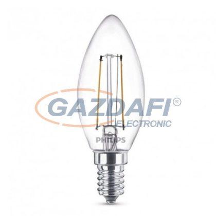 PHILIPS 871869657385300 LED fényforrás, classic 2W E14 WW B35 CL ND RF 1BC