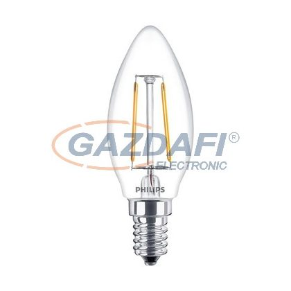 PHILIPS 871869657407200 B35 Filament LED fényforrás E14, 2W, 250Lm, 230V, 2700K
