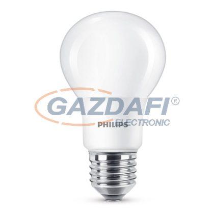 PHILIPS 871869657699100 LED fényforrás, 8.5W A60 E27 WW FR WGD 1BC/6