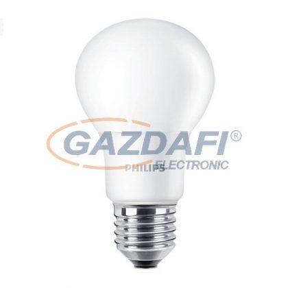 PHILIPS CorePro 871869657757800 A60, E27, 5.5W, LED fényforrás, 470Lm, 2700K, 827, opál búra,