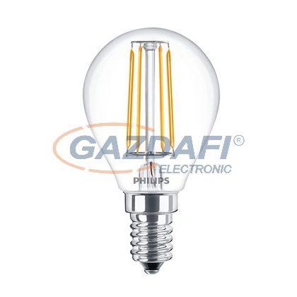 PHILIPS 871869658725600 Filament LEDluster fényforrás E14, 4W, 470Lm, 230V, 2700K