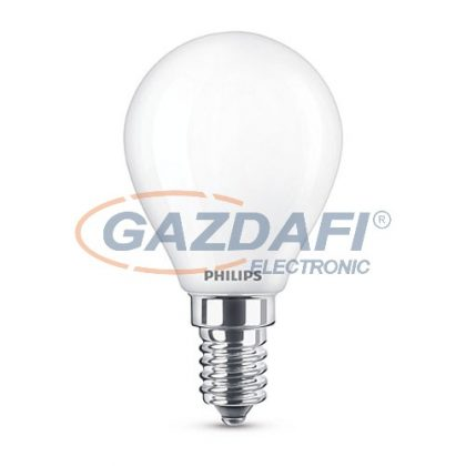 PHILIPS 871869670629900 LED fényforrás, classic 4.3W P45 E14 WW FR ND RF1BC/6