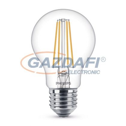 PHILIPS 871869670906100 LED fényforrás, classic 8W A60 E27 WW CL D SRT4