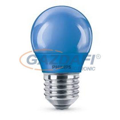 PHILIPS 871869674862600 LED fényforrás, colored P45 E27 kék 1BC/6