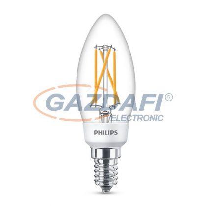 PHILIPS 871869680975400 LED fényforrás, classic SSW 5W B35 E14 WW CL ND 1SRT