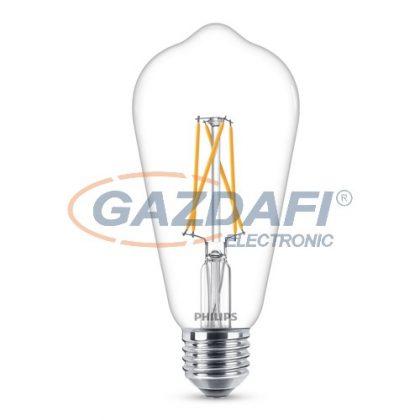 PHILIPS 871869681071200 LED fényforrás, classic 8.5W ST64 E27 WW CL WGD SRT4