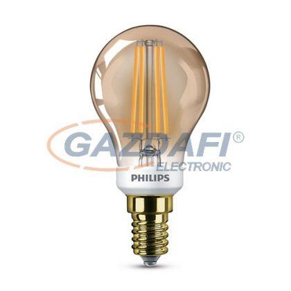 PHILIPS 871869681415400 LED fényforrás, classic 5W P45 E14 2200K GOLD SRT4