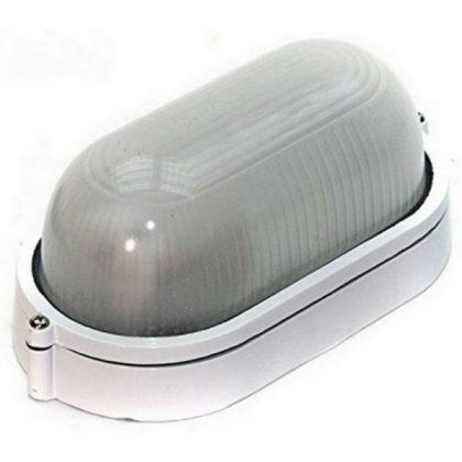 GAO 90052 Hajólámpa, ovális, alumínium, fehér