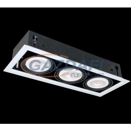 ELMARK QUAD312 Süllyesztett LED lámpa 12W 3XE27 2700K fehér