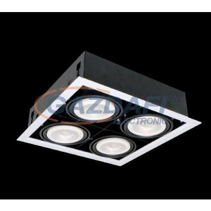 ELMARK QUAD412 Süllyesztett LED lámpa 12W 4XE27 4000K fehér