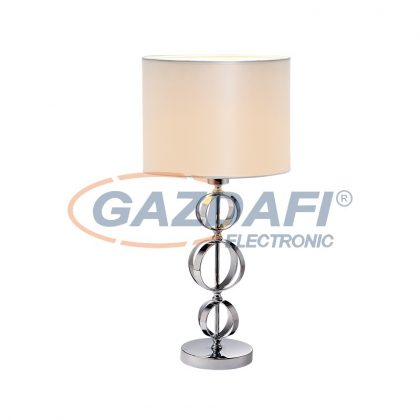 ELMARK MAYA asztali lámpa 1XE27 króm D320X570mm