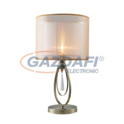 ELMARK MERY asztali lámpa 1XE27 antik réz D320X570mm