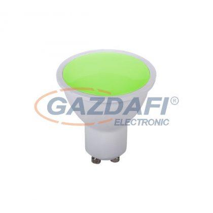 ELMARK LED fényforrás, SMD, 6W, zöld, GU10, 230V