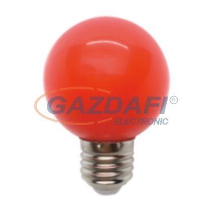 ELMARK 99LED825 LED fényforrás, gömb, G45, 3W, E27, piros