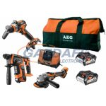 AEG 4935AKKU18BL2 18V akkumulátoros erőcsomag szett