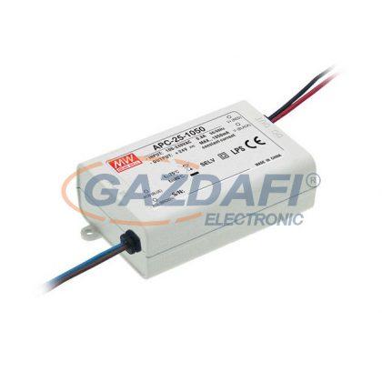 Mean Well APC-25-700 Egykimenetes, áramgenerátoros LED tápegység 25 W