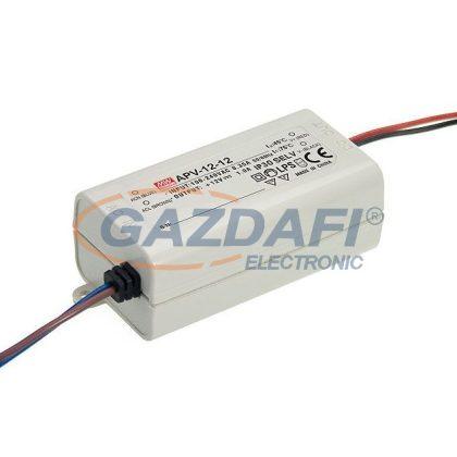 Mean Well APV-12-12 Egykimenetes LED tápegység 12 W