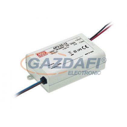 Mean Well APV-25-12 Egykimenetes LED tápegység 25 W