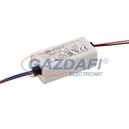 Mean Well APV-8-12 Egykimenetes LED tápegység 8 W