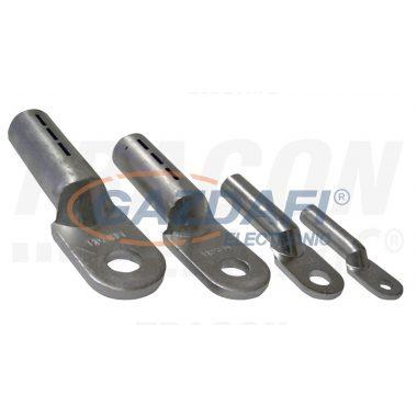 TRACON AS35-6 Szigeteletlen alumínium szemes csősaru 35mm2, M6, (d1=8,2mm, d2=6,4mm), 10 db/csomag