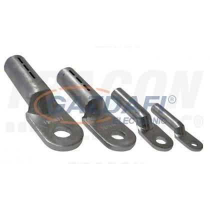 TRACON AS50-8 Szigeteletlen alumínium szemes csősaru 50mm2, M8, (d1=10mm, d2=8,4mm), 10 db/csomag
