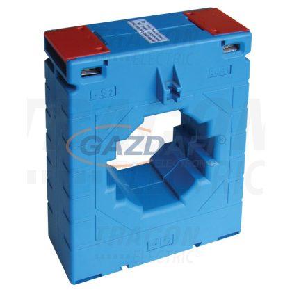 TRACON AV1003000SH Sínre fűzhető áramváltó, 100-as sínre, Po:0,5 3000A/5A, 10VA