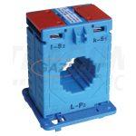TRACON AV3075SH Sínre fűzhető áramváltó, 30-as sínre 75A/5A, 2,5VA, Po:0,5