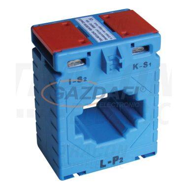 TRACON AV40200SH Sínre fűzhető áramváltó, 40-as sínre, Po:0,5 200A/5A, 5VA, Po:0,5