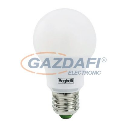 BEGHELLI BE-56171 LED fényforrás, E27, 10W, 1000Lm, 230V, 4000K, opál búra