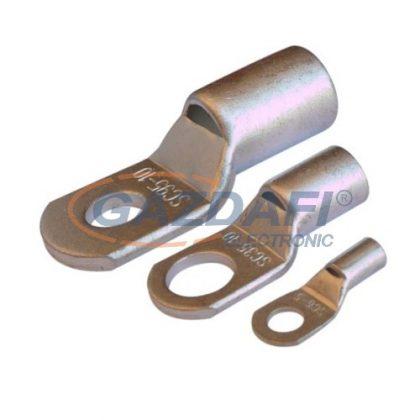 SG CCS25-10 szigeteletlen szemes csősaru, ónozott elektrolitréz 25mm², M10