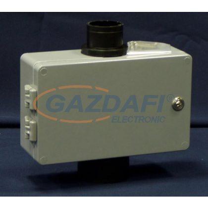 CSATÁRI PLAST MTSZ 3 csőcsonkos távközlési szekrény, 160x260x90mm